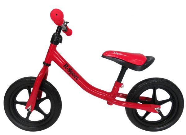 Rowerek biegowy R1 czerwony R-Sport Miękkie Koła EVA dzwonek