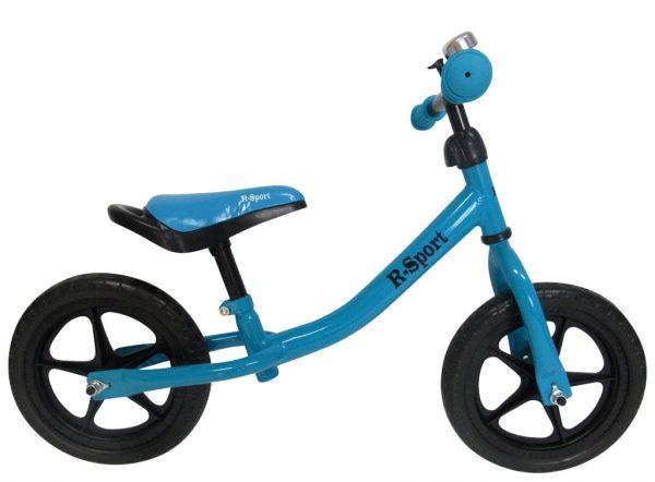 Rowerek biegowy R1 Niebieski R-Sport Miękkie Koła EVA dzwonek