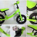 Obrazek produktu Rowerek biegowy R1 Zielony R-Sport Miękkie Koła EVA dzwonek