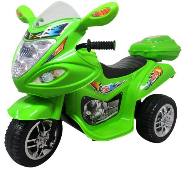 Motorek M1 Zielony, motorek na akumulator