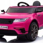 Obrazek produktu Cabrio F4 Różowy , autko na akumulator, miękkie koła Eva