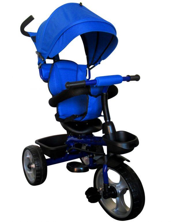 Obrazek produktu Rowerek Trójkołowy T2 niebieski Obracany 360 stopni Koła EVA