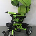 Obrazek produktu Rowerek Trójkołowy T2 zielony Obracany 360 stopni Koła EVA
