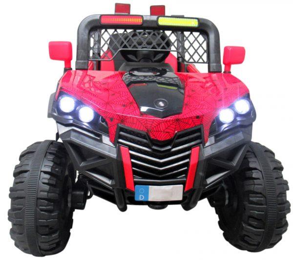 Buggy X7 4×4 czerwony lakierowany Miękki Fotelik Pilot 2.4G + Bujak