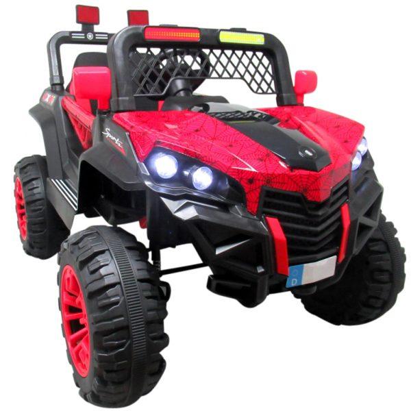 Obrazek produktu Buggy X7 4×4 czerwony lakierowany Miękki Fotelik Pilot 2.4G + Bujak