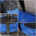 Obrazek produktu Trampolina Ogrodowa 6FT 183cm Siatka Zewnętrzna + Drabinka 110 kg