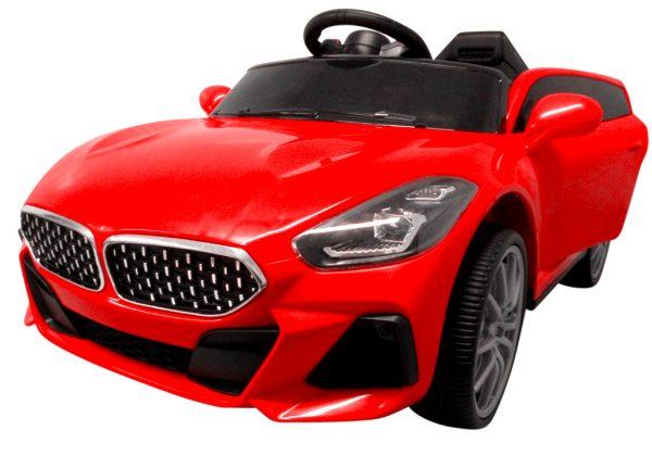 Cabrio AA6 czerwony, autko na akumulator, funkcja bujania