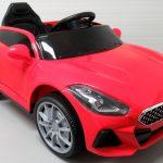 Obrazek produktu Cabrio AA6 czerwony, autko na akumulator, funkcja bujania