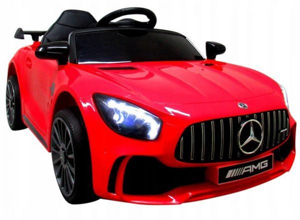 Mercedes GTR-S Czerwony na Akumulator Miękkie koła Eva miękki fotelik