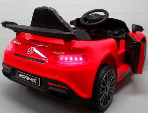 Obrazek produktu Mercedes GTR-S Czerwony na Akumulator Miękkie koła Eva miękki fotelik