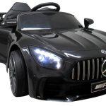 Obrazek produktu Mercedes GTR-s czarny na akumulator Miękkie koła Eva miękki fotelik