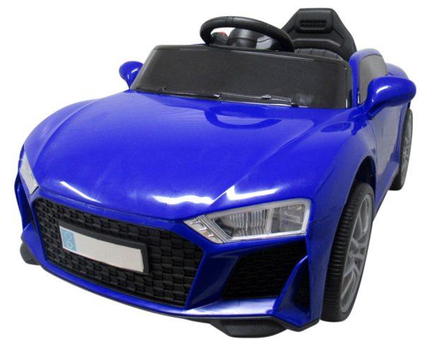 Autko na akumulator Cabrio AA5 Niebieskie 2xSilnik + kołyska