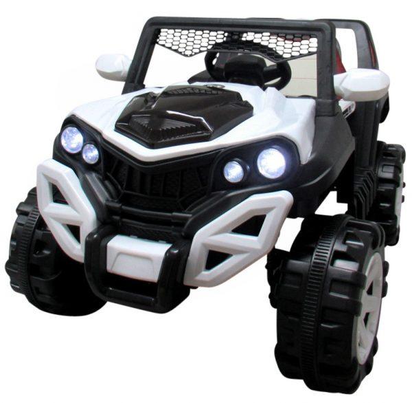 Buggy X8 4×4 czarny Miękki Fotelik Wolny Start Pilot 2.4 G + Bujak