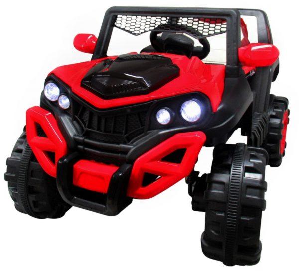 Obrazek produktu Buggy X8 4×4 czerwony, Miękki Fotelik Wolny Start Pilot 2.4 G + Bujak
