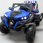 Obrazek produktu Buggy x9 4×4 niebieski pompowane koła Miękki Fotelik 12v7ah + Bujak