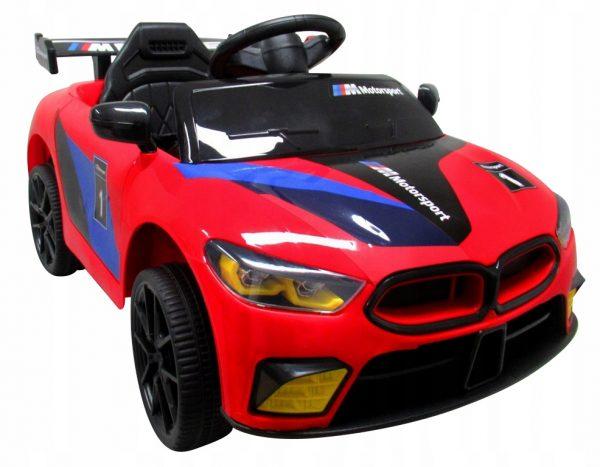 Auto na akumulator Cabrio B1 Czerwony 2xsilnik pilot 2.4G + Bujak