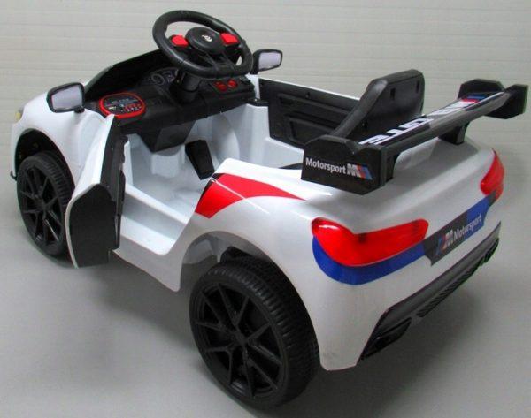 Obrazek produktu Auto na akumulator Cabrio B1 Biały pilot 2.4G + kołyska