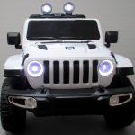 Obrazek produktu Duży Jeep x4 4×4 biały 12V 7ah Miękki Fotelik + Bujak