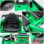 Obrazek produktu Mercedes GTR-S Zielony na Akumulator Miękkie koła Eva miękki fotelik