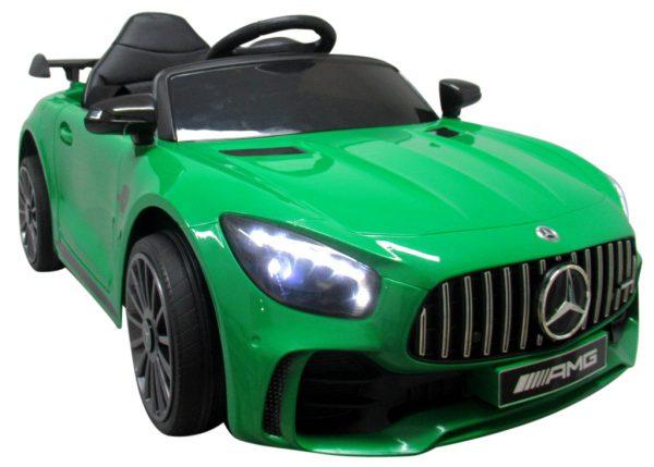 Mercedes GTR-S Zielony na Akumulator Miękkie koła Eva miękki fotelik
