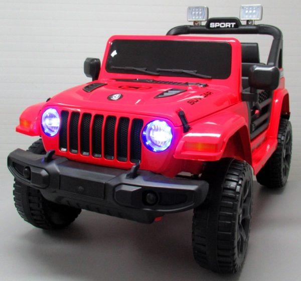 Obrazek produktu Duży Jeep X10 czerwony Pilot 2.4G Światła Muzyka Klakson