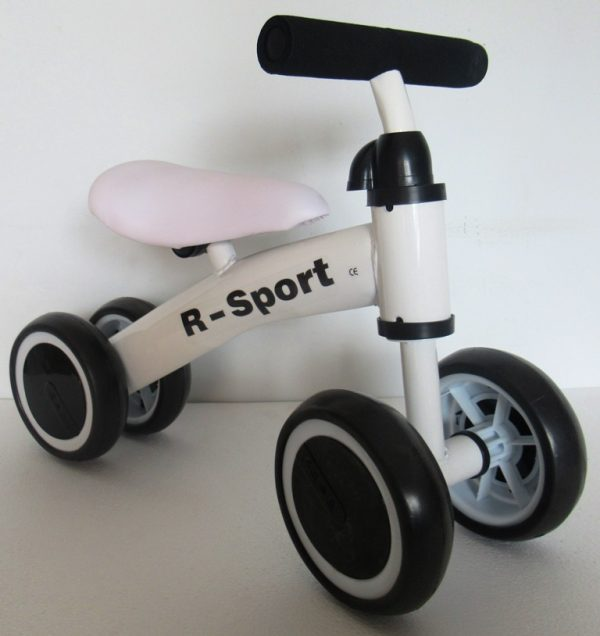 Obrazek produktu Rowerek biegowy R11 biały R-Sport jeździk