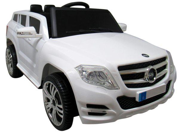 SUV X1 BIAŁY autko na akumulator łożyska w kołach regulowana kierownica