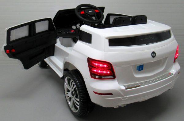 Obrazek produktu SUV X1 BIAŁY autko na akumulator łożyska w kołach regulowana kierownica