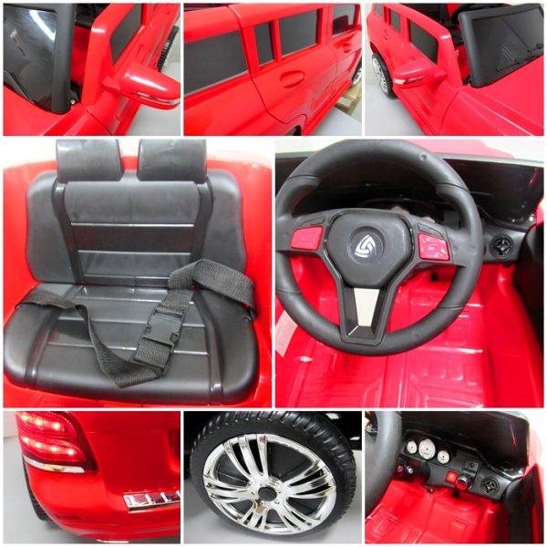 Obrazek produktu Suv X1 Czerwony autko na akumulator łożyska w kołach regulowana kierownica