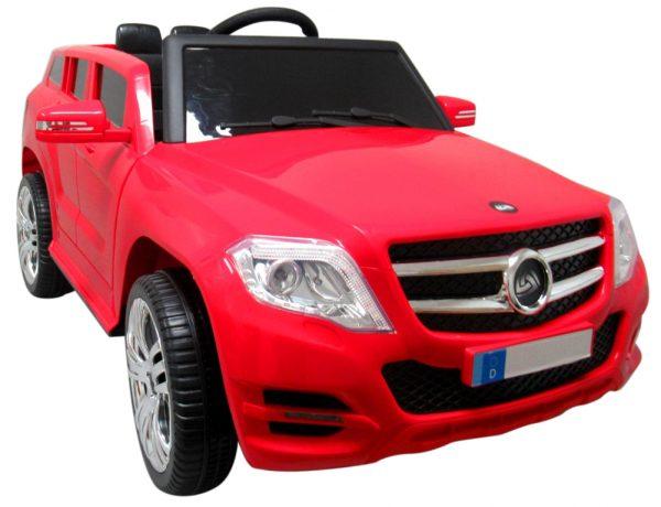 Suv X1 Czerwony autko na akumulator łożyska w kołach regulowana kierownica