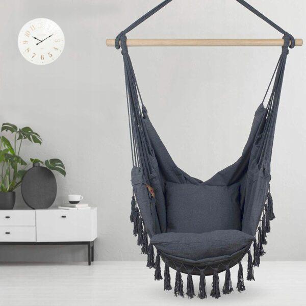 Obrazek produktu Hamak Huśtawka Krzesło Fotel Brazylijski wiszący 150kg