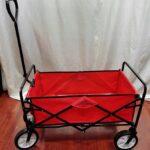 Obrazek produktu Wózek składany Turystyczny Transportowy Plażowy 90 kg