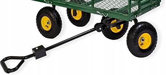 Obrazek produktu Duży Wózek Ogrodowy Transportowy Przyczepka 500kg