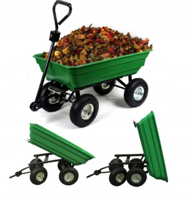 Taczka wózek ogrodowy transportowy wywrotka 350kg